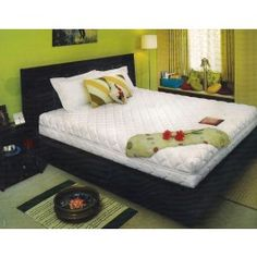 Kurl-On Valentino 8inch Mattress he unique combination of Pocket and Bonnell spring provides you maximum comfort, making Valentino an ultimate luxury sleep mattress. The head and foot regions are made up of Pocket springs for support, while the middle portion comprises of Bonnell springs that gives your spine, the essential firmness. Its coil count and points of support are significantly higher, making it more responsive and comfortable.