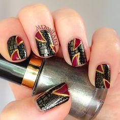 Instagram photo by mdnailart #nail #nails #nailart