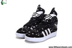 new products 2556b a21b1 Cheap Discount Adidas X Jeremy Scott Big Tongue Star Shoes For Sale Nike  Zoom, Kd