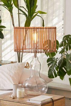 Rattan Lamp, Boho Diy, Home Lighting, Diy Home Decor, Nature Home Decor, Room Decor, Lights, Urban Outfitters, Space