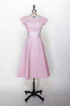 Vintage 1950s cocktail dress from Dalena Vintage