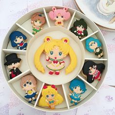 Image may contain: 1 person Macarons, Macaron Cookies, Fun Deserts, Cute Desserts, Sailor Moon Birthday, Food Hampers, Kawaii Dessert, Macaroon Recipes, Homemade Playdough