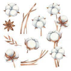 Fall Bouquets, Floral Bouquets, Flower Branch, Flower Frame, Watercolor Flower Wreath, Watercolor Christmas Tree, Eucalyptus Bouquet, Graphic Design Pattern, Winter Flowers