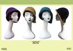 Vividworks Hats, Felt designs by Den Jones