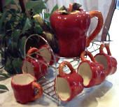 Apple teaset