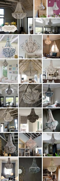 Diy wire lampshade craft ideas pinterest wire lampshade hellooow bead chandeliers from south africa greentooth Choice Image