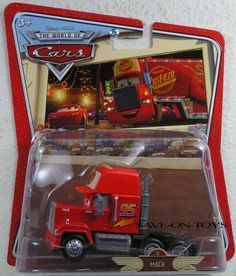 Disney / Pixar CARS Movie 1:55 Die Cast Car World of Cars Oversized Vehicle Mack Truck (Cab Only!) by Mattel. $19.99. Mack Truck 1:55 Scale Disney Pixar Oversize Package Issue. Mack Truck Disney Pixar 1:55 scale issue is new in oversize package as shown in photo....