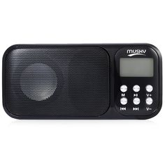 HJ - 92 Portable Speaker With Mini USB FM Radio Rechargeable Loudspeakers Music Player With TF Card Slot AUX Audio Input //Price: $17.98     #PleaseForgiveMe