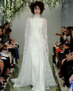 Victoria KyriaKides NY Runway FW 2014 Bridal Collection Bridal