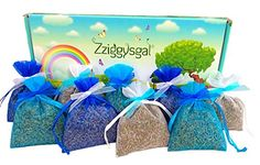 Zziggysgal 9 French Lavender Sachets in a Beautiful Keepsake Box * Be sure to check out this awesome product.