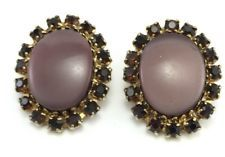Vintage Gold Tone Rhinestone Clip On Earrings Statement Jewelry Dangle  http://www.ebay.com/itm/Vintage-Gold-Tone-Rhinestone-Clip-On-Earrings-Statement-Jewelry-Dangle-/131522944270?pt=LH_DefaultDomain_0&hash=item1e9f60dd0e