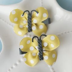 butterfly bows by My Little Pixies!