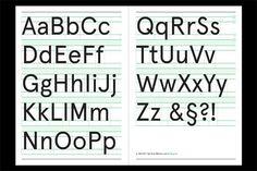 apercu type specimen - Google Search
