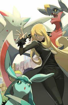 Pokemon Mew, Pokemon Fan Art, Pikachu, Pokemon Poster, Fire Emblem, Pokemon Cynthia, Anime Friendship, Gym Leaders, Pokemon Pictures