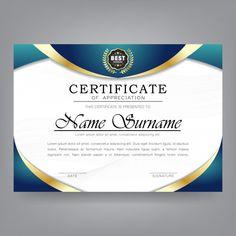 Certificate of appreciation modern templ. Certificate Border, Certificate Background, Certificate Of Achievement Template, Certificate Format, Certificate Design Template, Receipt Template, Printable Certificates, Powerpoint Design Templates, Keynote Template
