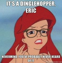 hipster ariel.  one of my favorite internet memes.