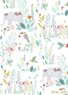 Bethan Janine Jungle animals