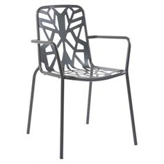 Our Leaf arm chair is sturdy, rustproof and corrosion resistant. This chair is manufactured with industrial-grade steel and pre-treated with zinc galvanization which guarantees against corrosion. The finish is a polyester powder-coating which is extremely resistant and will remain bright for many years. This chair is stackable and can stack 16 high. Order online today at http://contractfurniture.com/product_detail.php?prodID=6426 or call us 800.507.1785
