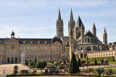 Abbaye aux Hommes, Caen, France. #Belvedere #Quarante #Herault #Languedoc