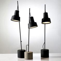 Aydınlatma ve Dekor Dünyasından Gelişmeler: Nir Meiri'den Spot Masa Lambası #aydinlatma #lighting #design #tasarim #dekor