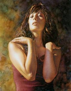 Steve Hanks   WATERCOLOR