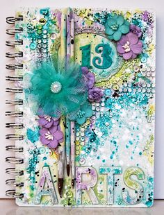 Ingrid's place: 13 colors = 13 arts Art Journal find out how @Ingrid's place.