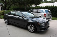 This Audi A4 got treated to Opti-Coat Pro.