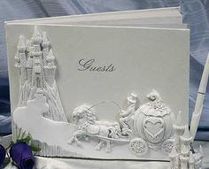cinderella bridal shower | ... Wedding Guest Registry Book - Cinderella Fairy Tale - Wedding Themes