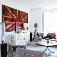 Living room | Edgy Victorian house tour | housetohome.co.uk