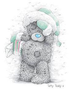 Мишка Тедди зима