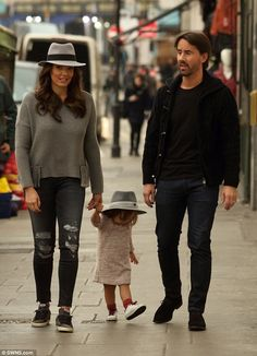 Reunited: Tamara Ecclestone and Jay Rutland were pictured back together again on Wednesday...