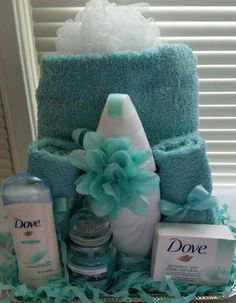 Dove gift basket for her $35