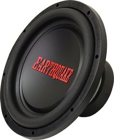6: Earthquake Sound Tremor-X154 15-inch Car Subwoofer, 1500 Watts