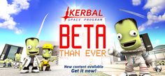 With its latest patch the Kerbal Space Program enters Beta stages of its launch