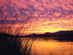 Lake Pend Oreille, Idaho. #RideColorfully