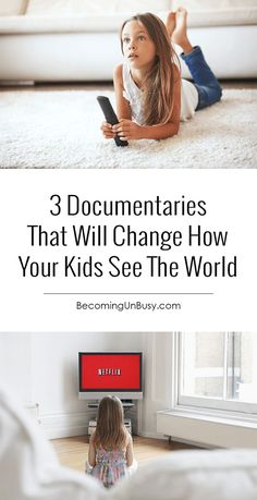 These documentaries on Netflix and Amazon Prime are a MUST-SEE for kids! Be sure to look at the community suggestions at the end of the post for more ideas. Parents love these movies too!