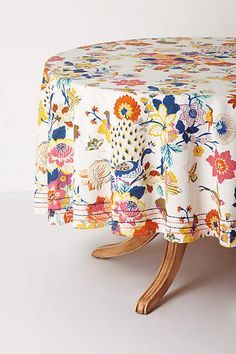 Heredia Tablecloth - anthropologie.com