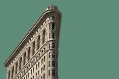 Flatiron Building Wall Art Choose a Color City by HeyImWalkinHere