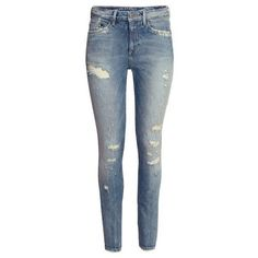 """H&M High Waist Skinny Jeans Great fitting jeans. High waisted and super flattering. 29"""" waist, 30"""" inseam. In excellent condition. H&M Jeans Skinny"""