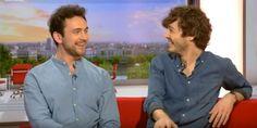 George Blagden & Alexander Vlahos on the BBC Breakfast show