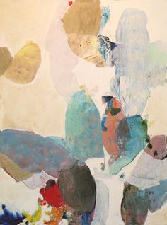 Acrylic, oil and charcoal on canvas Meredith Pardue