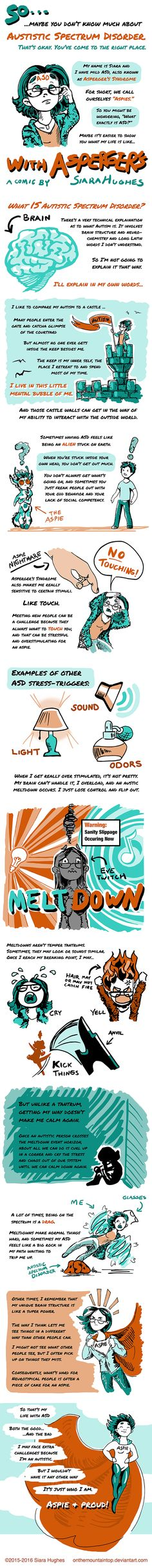 My Life with Asperger's by OnTheMountainTop.deviantart.com on @DeviantArt