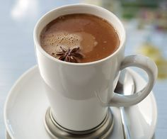 Proof Hot Chocolate by Michael Paley (Proof on Main, Louisville). Best spiked with bourbon before serving.
