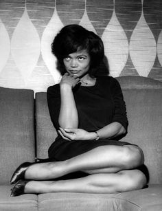 Unknown Black and White Photograph - Eartha Kitt Candid Fine Art Print Divas, Eartha Kitt, Vintage Black Glamour, Black Actresses, Provocateur, My Black Is Beautiful, Beautiful People, Before Us, Black Power