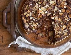 Maybe beer is an unconventional dessert ingredient, but it perfectly complements the rich, fruity flavours in this pear and chocolate tart.