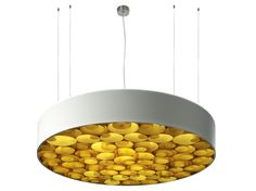 Lampada a sospensione in Polywood® SPIRO S by LZF design Remedios Simón