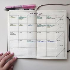 Source: Stelle Studies Monthly Bullet Journal layout