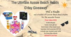 #Win the Ultimate Aussie Beach #AmReading G'day #Giveaway