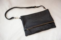 'biker chick' clutch + crossbody bag / maven