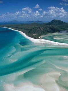 Whitehaven Beach (Australia) - Fotos de Playas